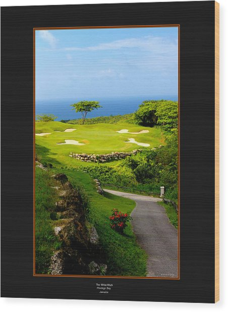 The White Witch Jamaica Wood Print
