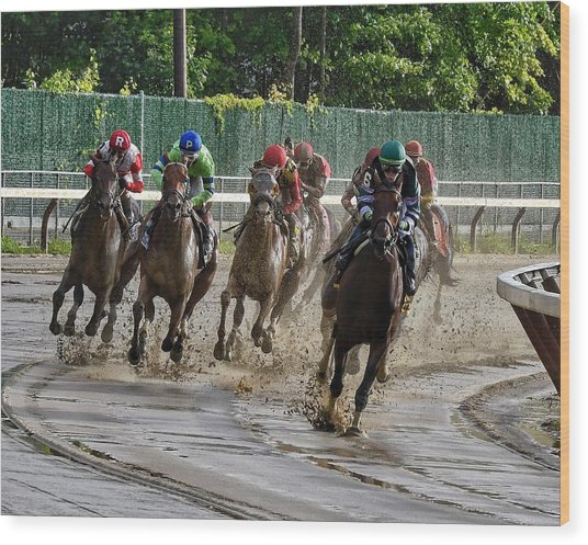 Diversify Winning The Whitney 2018 Wood Print