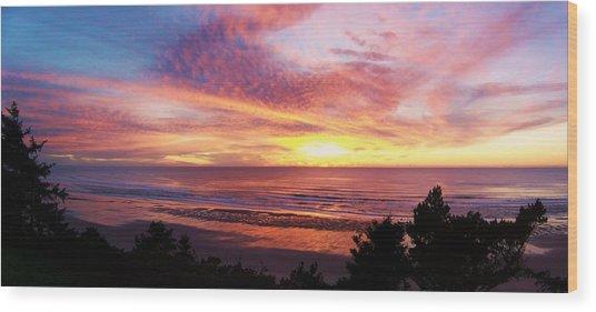 The Whole Sunset Wood Print