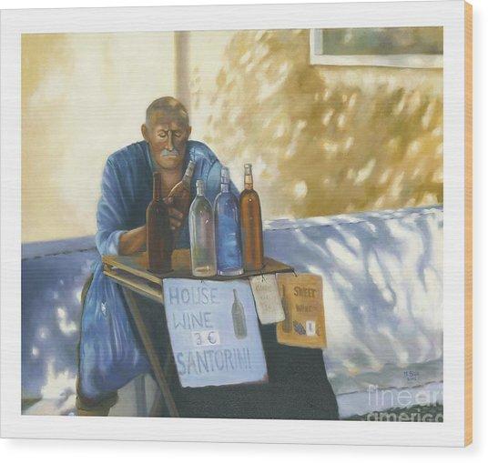 The Wineseller Wood Print