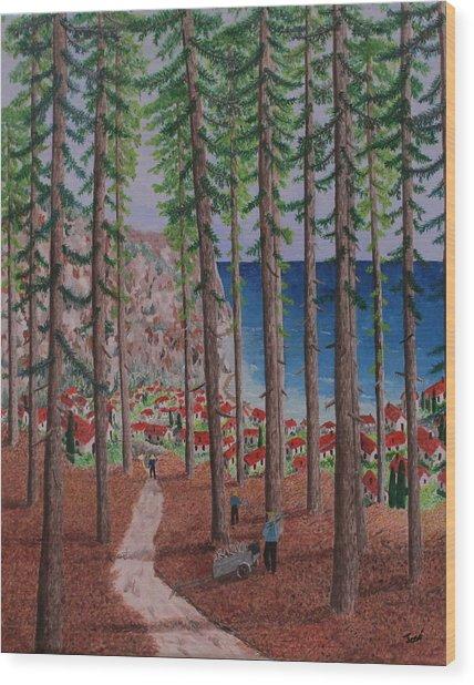 The Wood Collectors Wood Print