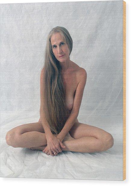 The Yogi Wood Print