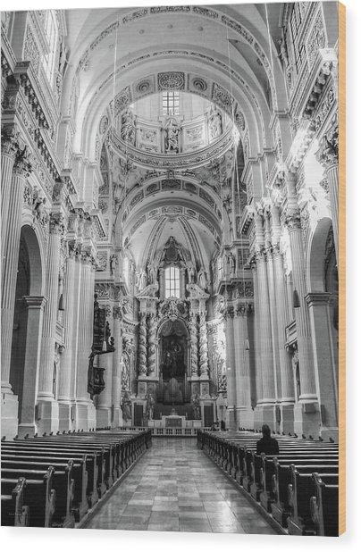 Theatinerkirche St. Kajetan Wood Print