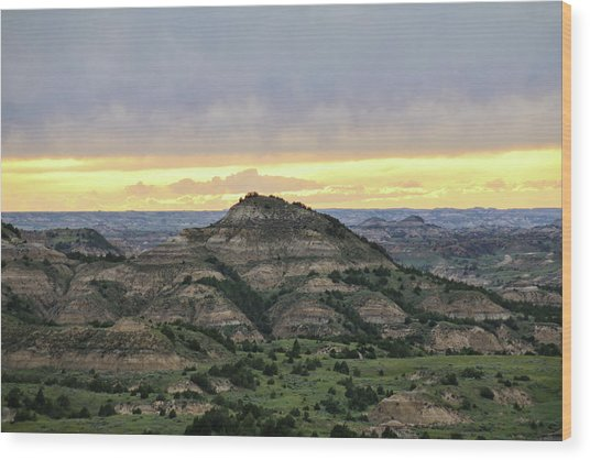 Theodore Roosevelt National Park, Nd Wood Print