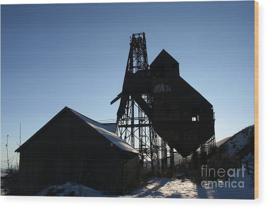 Theresa Mine Wood Print