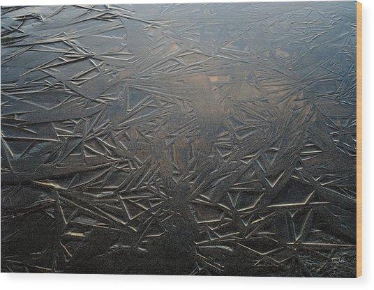 Thin Dusk    Wood Print