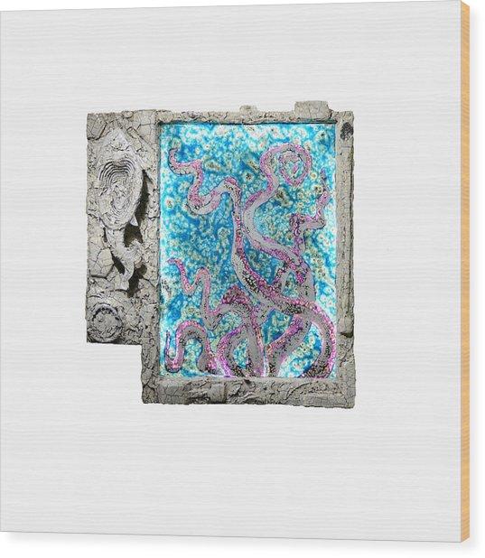 Things Of The Sea Wood Print