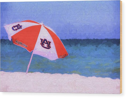 This Is Auburn Wood Print by JC Findley