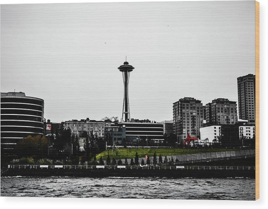This Is Seattle  Wood Print