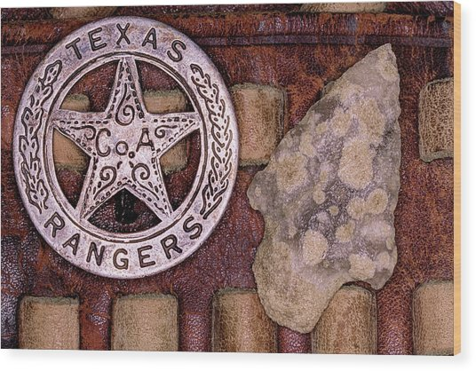 This Is Texas Wood Print by JC Findley