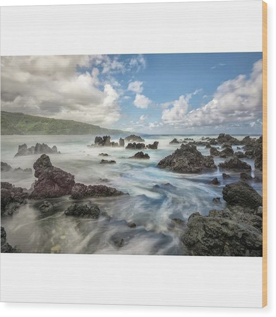This Photograph Was Captured On The Wood Print by Jon Glaser