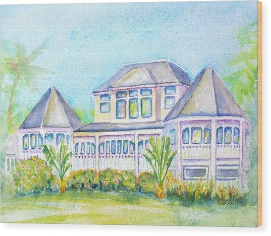 Thistle Lodge Casa Ybel Resort  Wood Print