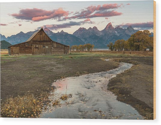 Thomas Moulton's Barn Wood Print