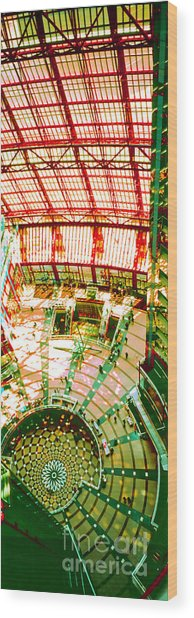 Thompson Center Wood Print