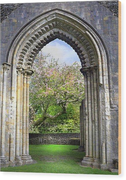 Threshold Of Avalon Wood Print