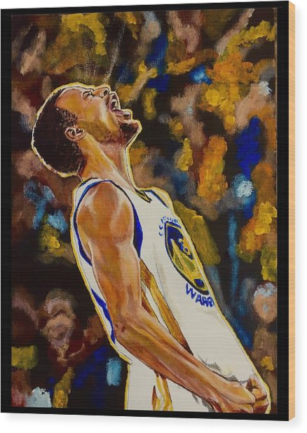 Thrill Of Victory Wood Print