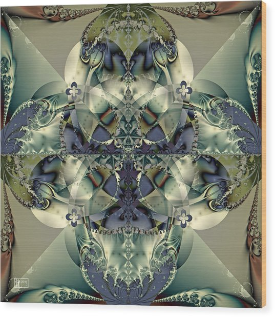 Through A Glass Darkly Wood Print