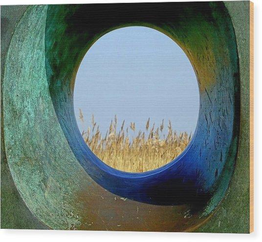 Through And Beyond Wood Print