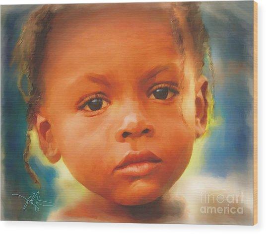 Through My Eyes Wood Print by Bob Salo