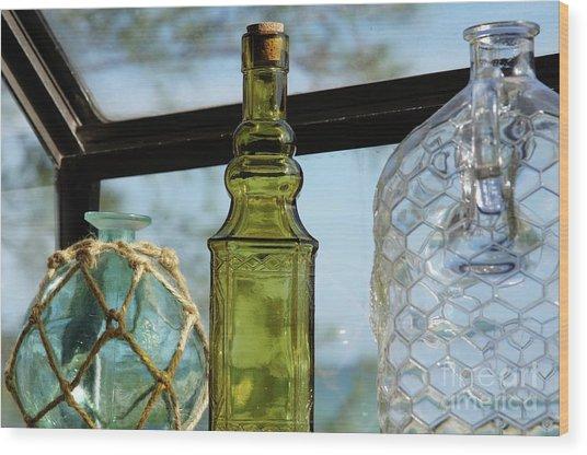 Thru The Looking Glass 3 Wood Print