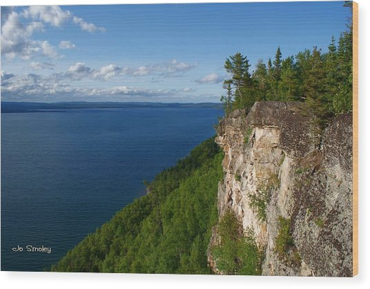 Thunder Bay Lookout Wood Print