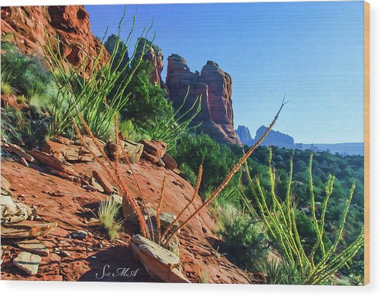 Thunder Mountain 07-006 Wood Print