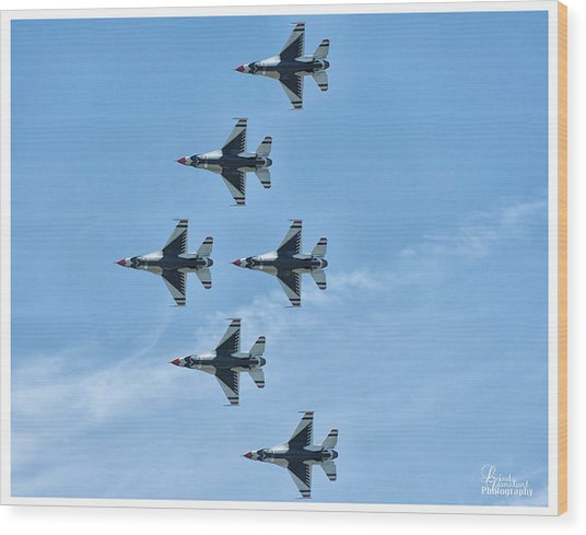 Thunderbirds Wood Print