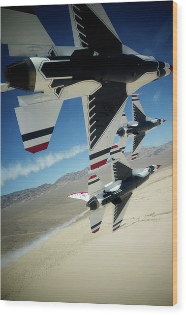 Thunderbirds Photo Wood Print