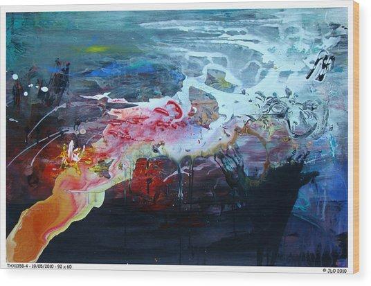 Thx1358-4 Wood Print by Jlo Jlo