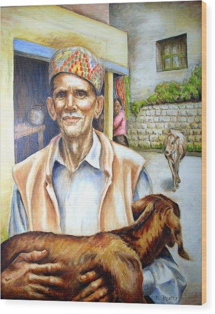 Tibetan Refugee Dharamsala Wood Print