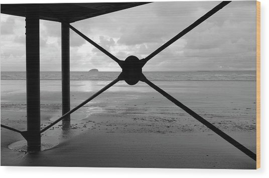 Tide's Out Wood Print