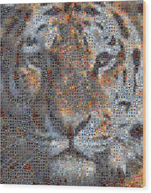 Tiger Wood Print by Boy Sees Hearts