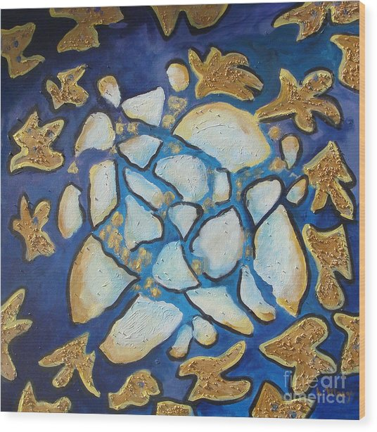 Tikkun Olam Heal The World Wood Print