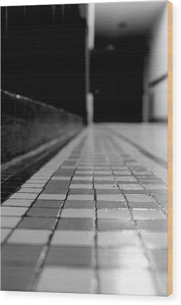Tile Wood Print