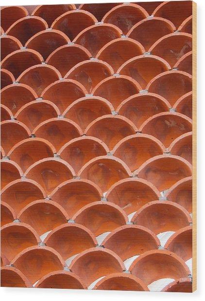 Tiles Wood Print