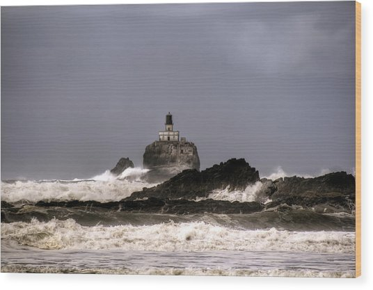 Tillamook Lighthouse Wood Print