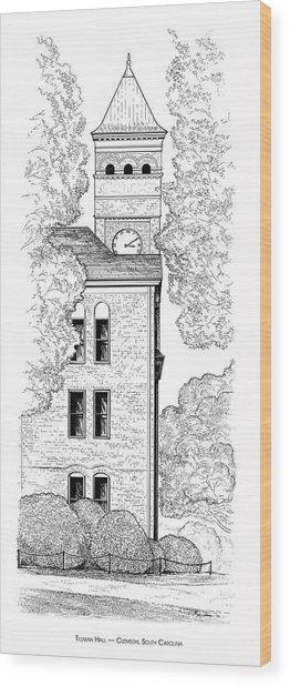 Tillman Hall Wood Print
