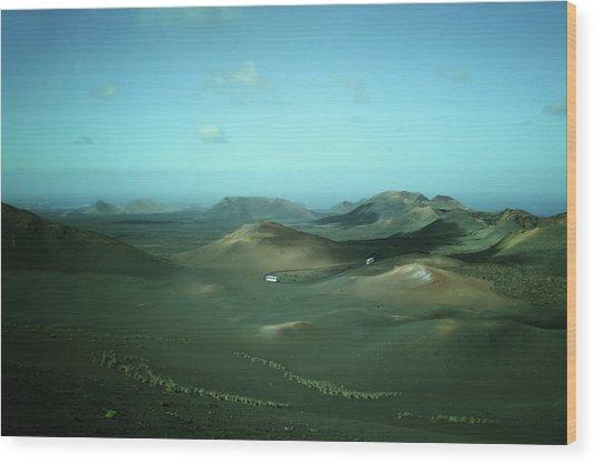Timanfaya - Lanzarote Wood Print