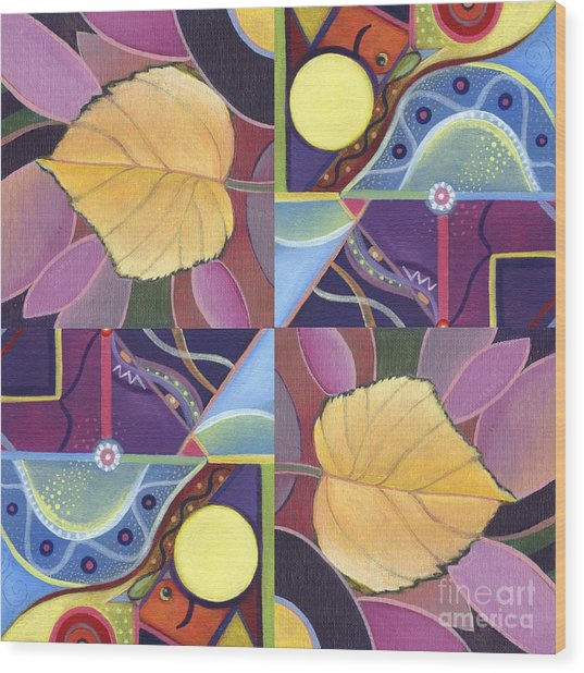Time Goes By - The Joy Of Design Series Arrangement Wood Print