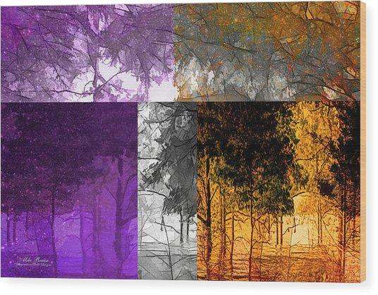 Time Of The Season Wood Print