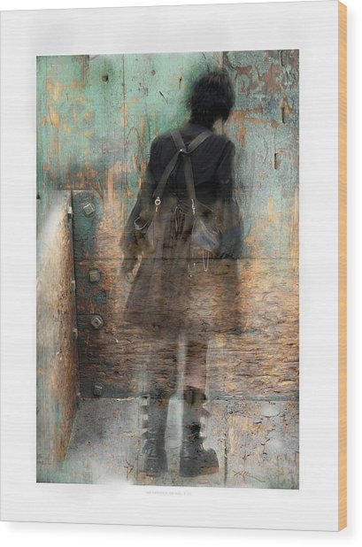 Time Passages - Beyond All Barriers Wood Print