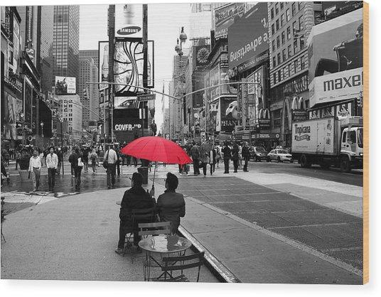 Times Square 5 Wood Print