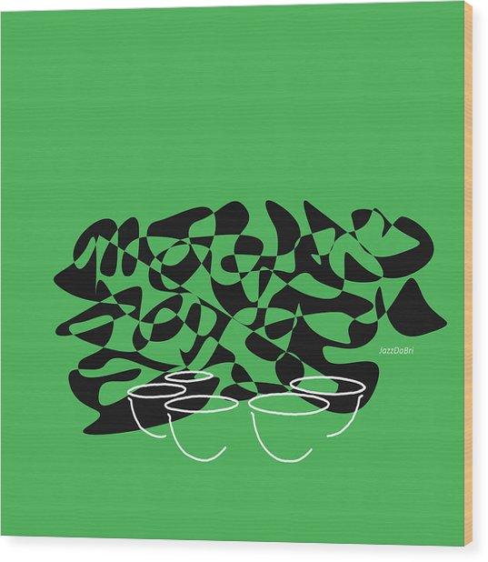 Timpani In Green Wood Print
