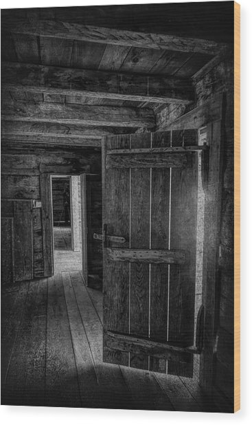 Tipton Cabin Award Winner Wood Print