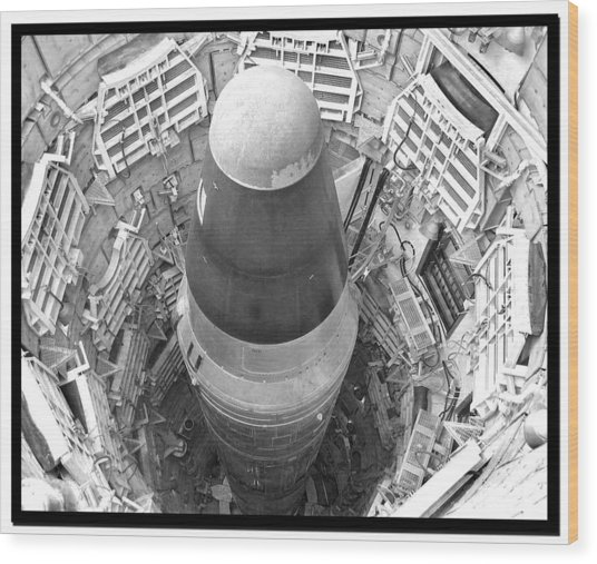 Titan Missile Site Museum Wood Print
