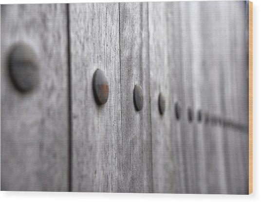 To Infinity Wood Print