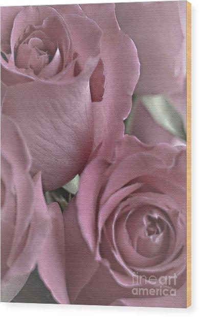 To My Sweetheart Wood Print