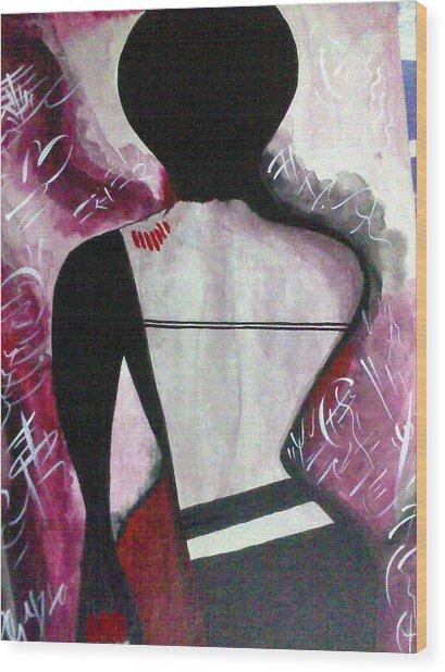 To Pain And Pleasure Wood Print by Samarpita Dasgupta