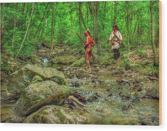 To The Kiskiminetas Wood Print by Randy Steele