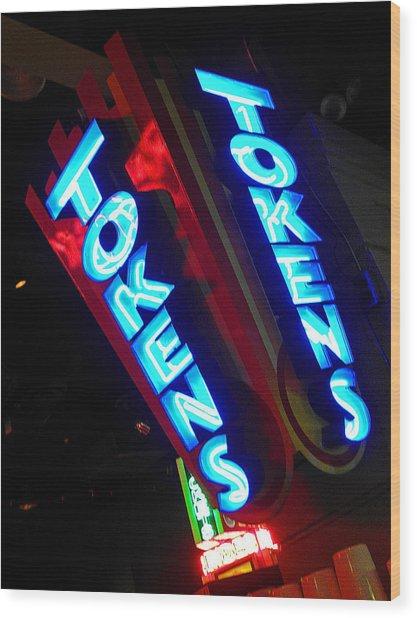 Tokens Wood Print by Elizabeth Hoskinson